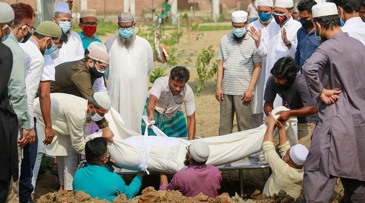 করোনা: খুলনা বিভাগে একদিনে ৪৩ জনের মৃত্যু