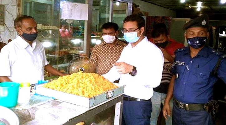 সুনামগঞ্জে ব্যবসা প্রতিষ্ঠানকে অর্থদন্ড করেছে ভ্রাম্যমান আদালত