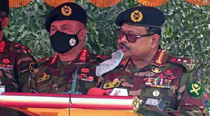 টাঙ্গাইলে আন্তর্জাতিক সামরিক প্রশিক্ষণ  উদ্বোধন