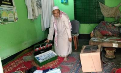 মুন্সীগঞ্জে সিন্দুক ভেঙে মসজিদের টাকা চুরি
