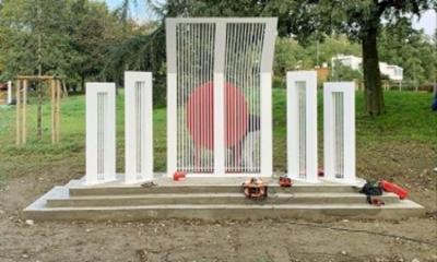 ফ্রান্সের পিংক সিটিতে নির্মিত হলো স্থায়ী শহীদ মিনার