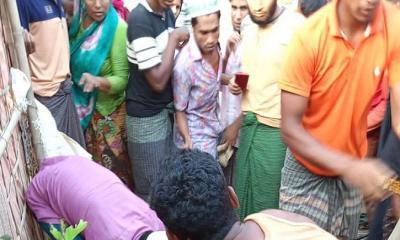 কুতুপালং ক্যাম্পে স্বামী-স্ত্রীসহ তিন রোহিঙ্গার রক্তাক্ত লাশ