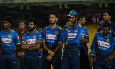 বেতন নিয়ে আন্দোলনে নামলেন শ্রীলংকার ক্রিকেটাররা