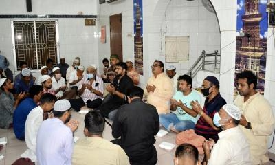 পাবনায় মোহাম্মদ নাসিম'র ১ম মৃত্যুবার্ষিকী উপলক্ষে দোয়া মাহফিল