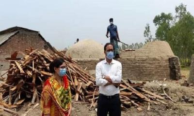 ঘাটাইলে অবৈধ কয়লা কারখানায় ভ্রাম্যমাণ আদালতের অভিযানে জরিমানা