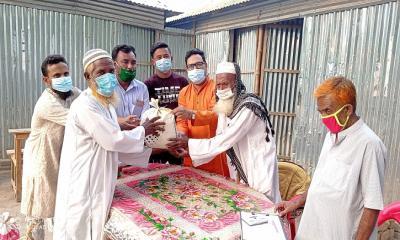ইসলামপুরে ৩৩৩ নাম্বারে ফোন করে সহায়তা পেলেন ৪০ পরিবার