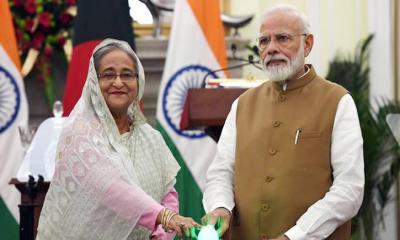বাংলাদেশ-ভারত মৈত্রী সেতু উদ্বোধন