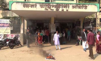 দিনাজপুরে সাধারন সভায় দুপক্ষ আইনজীবির সংঘর্ষে ১০ জন আহত