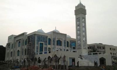 ইসলামপুরে উদ্বোধন হচ্ছে দৃষ্টিনন্দন মডেল মসজিদ