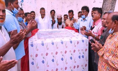 ইসলামপুরে গুঠাইল সিনিয়র আলিম মাদরাসার ভিত্তি প্রস্তর স্থাপন
