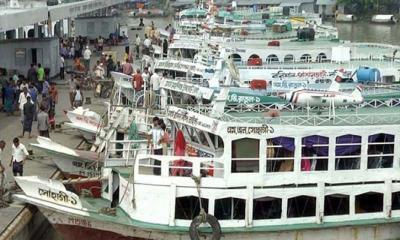 বাংলাবাজার-শিমুলিয়া রুটে লঞ্চ চলাচল বন্ধ
