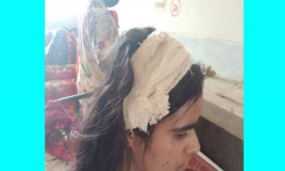 নেত্রকোনায় সংঘর্ষের ঘটনায় পুলিশের স্ত্রী আহত