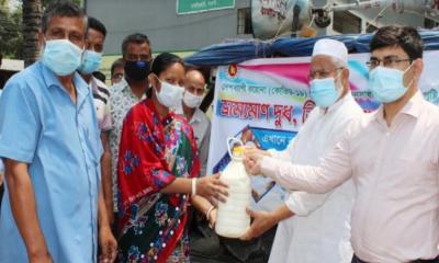 ধামইরহাটে ভ্রাম্যমাণ বিক্রয় কেন্দ্র উদ্বোধন