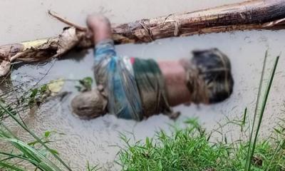 ধামইরহাটের চিরি নদী থেকে অজ্ঞাত ব্যক্তির মরদেহ উদ্ধার
