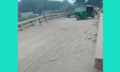 দেলদুয়ারের এলাচিপুর- চরপাড়া বাজার সংলগ্ন সেতুটি সংস্কার জরুরী